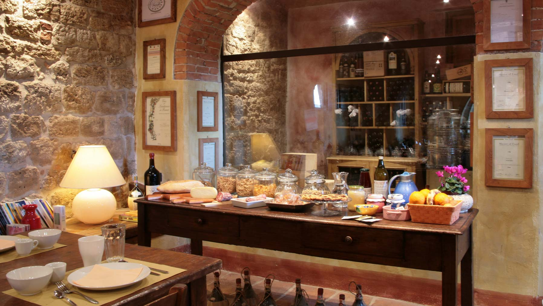 Breakfast at Farmhouse Il Molinello