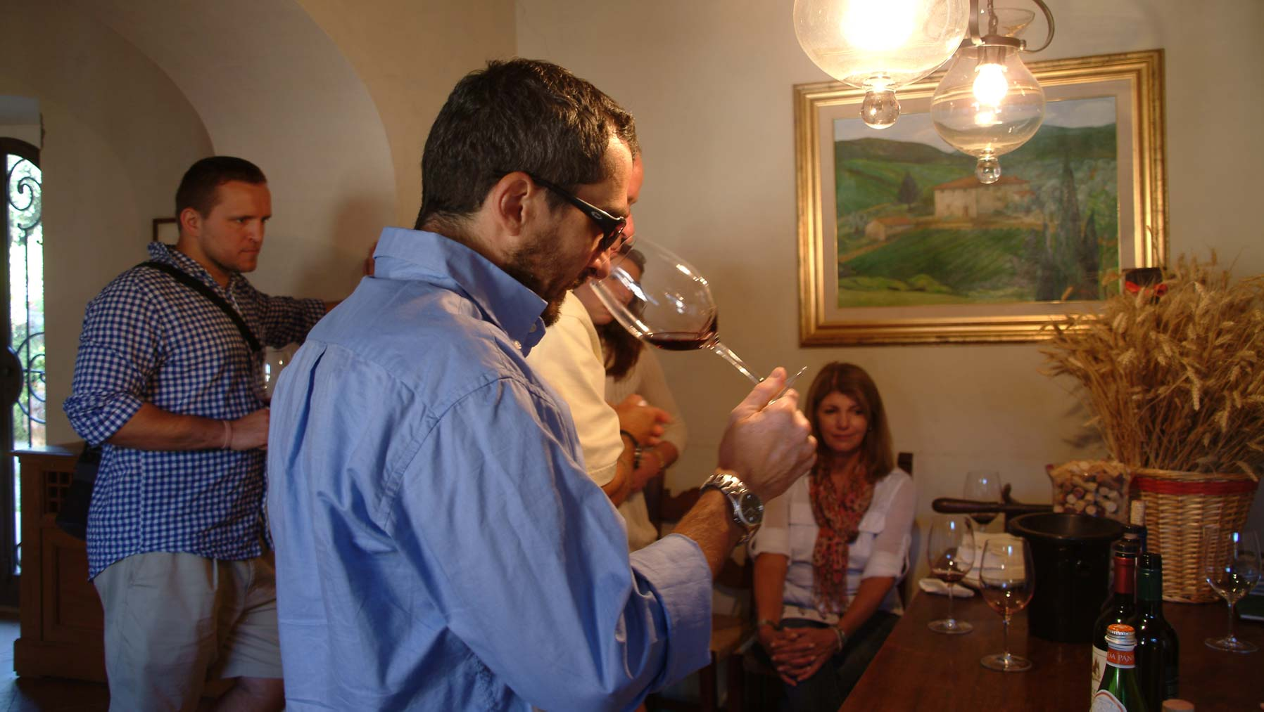 Wine tours and tasting in the wine cellars in Siena province